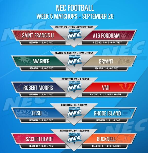 #NECFB Week 5