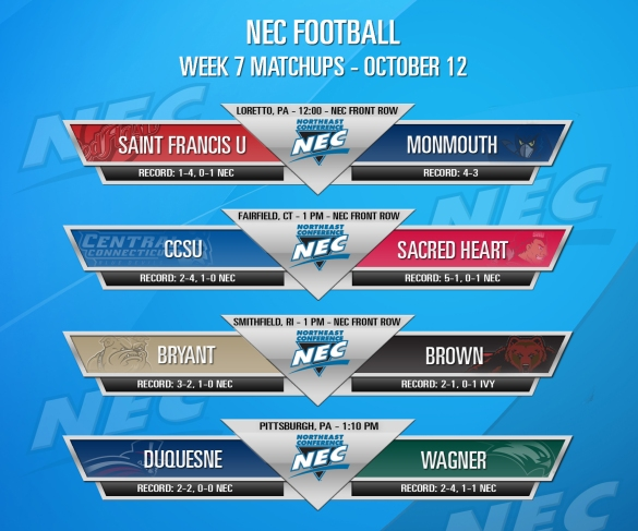 #NECFB Week 7 The Card