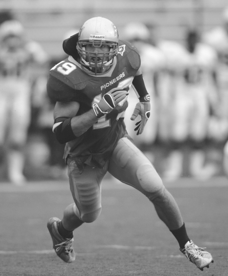 Jon Corto during his Sacred Heart playing days (photo by J. Gregory Raymond)