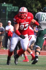 DT Troy Moore (SHU): The do-it-all defensive tackle proved to be one of the league's premier pass rushers in 2013.