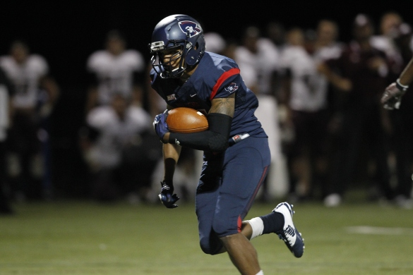 After amassing 237 yards from scrimmage in Week 2 at North Dakota, Robert Morris RB Rameses Owens was named the National FCS Freshman of the Week by the Sports Network.