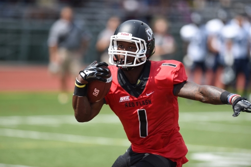Saint Francis RB Khairi Dickson, a Third Team selection, led the FCS in rushing yards for the regular season.