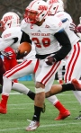 Sacred Heart S Gordon Hill, a Second Team selection, logged 14.5 TFL and 2 INT during his senior season.