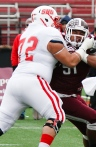 Sacred Heart OL Jaime Martinez, a Third Team selection, started every game at RT during SHU's two championship seasons.
