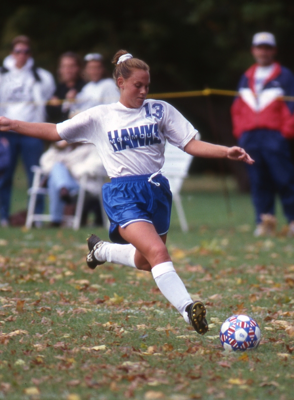 She competed in the Northeast Conference from 1993-96. Since 1998, she has been a USWNT member.