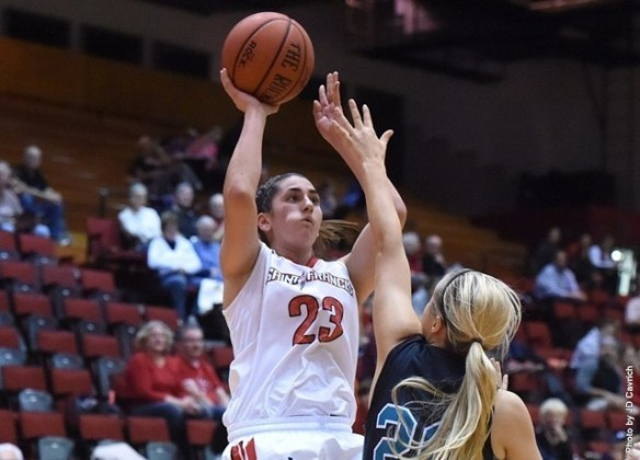 Saint Francis U freshman Jessica Kovatch is averaging 23.0 ppg.