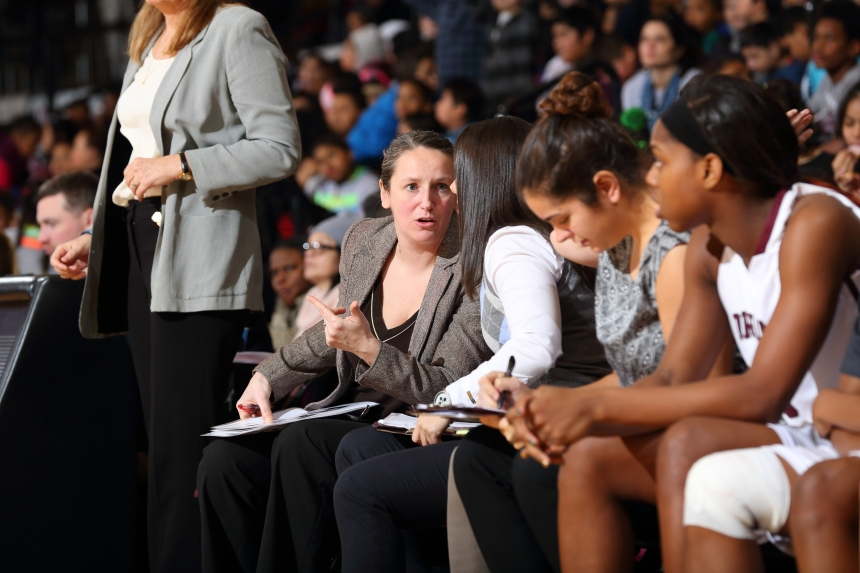 Angelika Szumilo, a former two-time NEC All-Tournament selection, is in her fifth season as the associate head for Fordham.