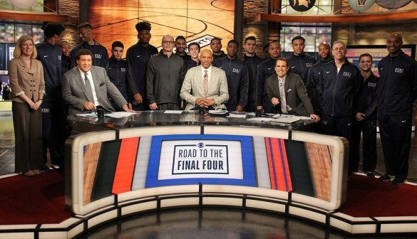On March 12, teh Knights visited the CBS Sports Studio to be live guests on the network's Road to the Final Four program.