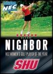 Golf - Ellen Nighbor (SHU)