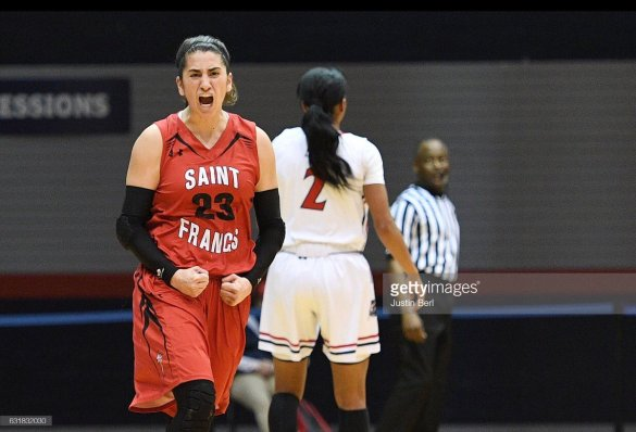 Jessica Kovatch after hitting the 1,000-point mark (PHOTO: Justin Berl)